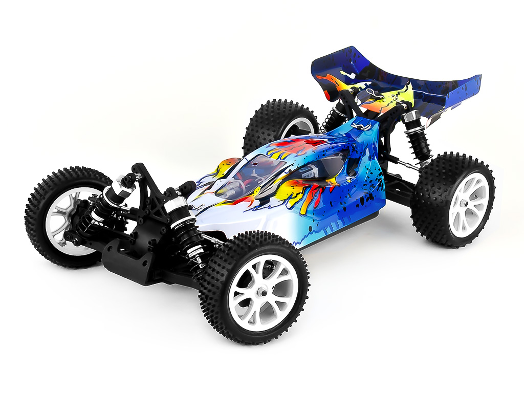1:10 Off-Road Buggy Spirit EBD 4WD, Brushed, RTR, 2.4G, Waterproof  RH1016