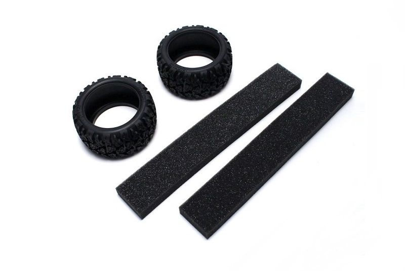 Neo Bloc Tire w/Inner (2pcs/RAGE VE)