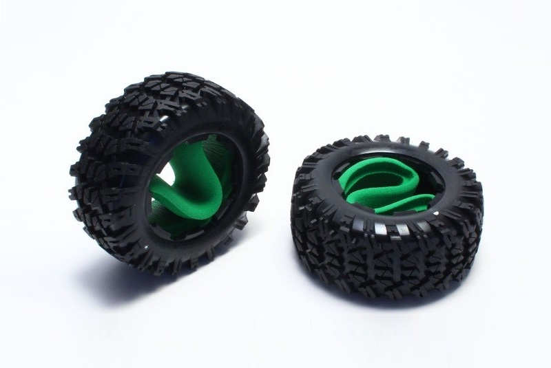 Front Tire / Inner Foam Set (2) Scorpion XXL