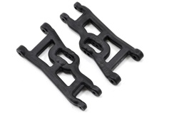 Front A-arms (2) Offset-Compensating, Black