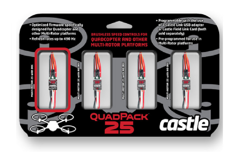 ����������� ��������� �������� Castle Creations Quadpack 25, 25AMP Multi-Rotor (4) Pack