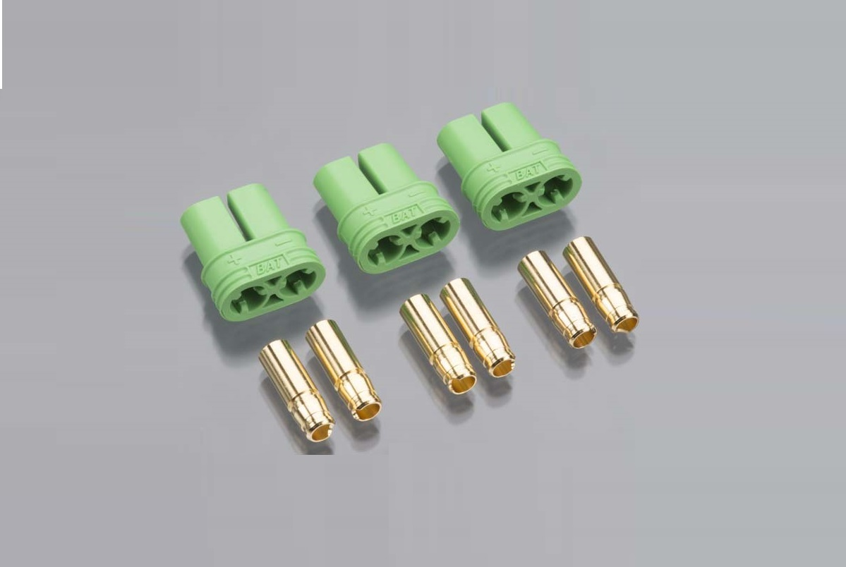 4.0mm Polarized Connectors-Female Multi-Pack