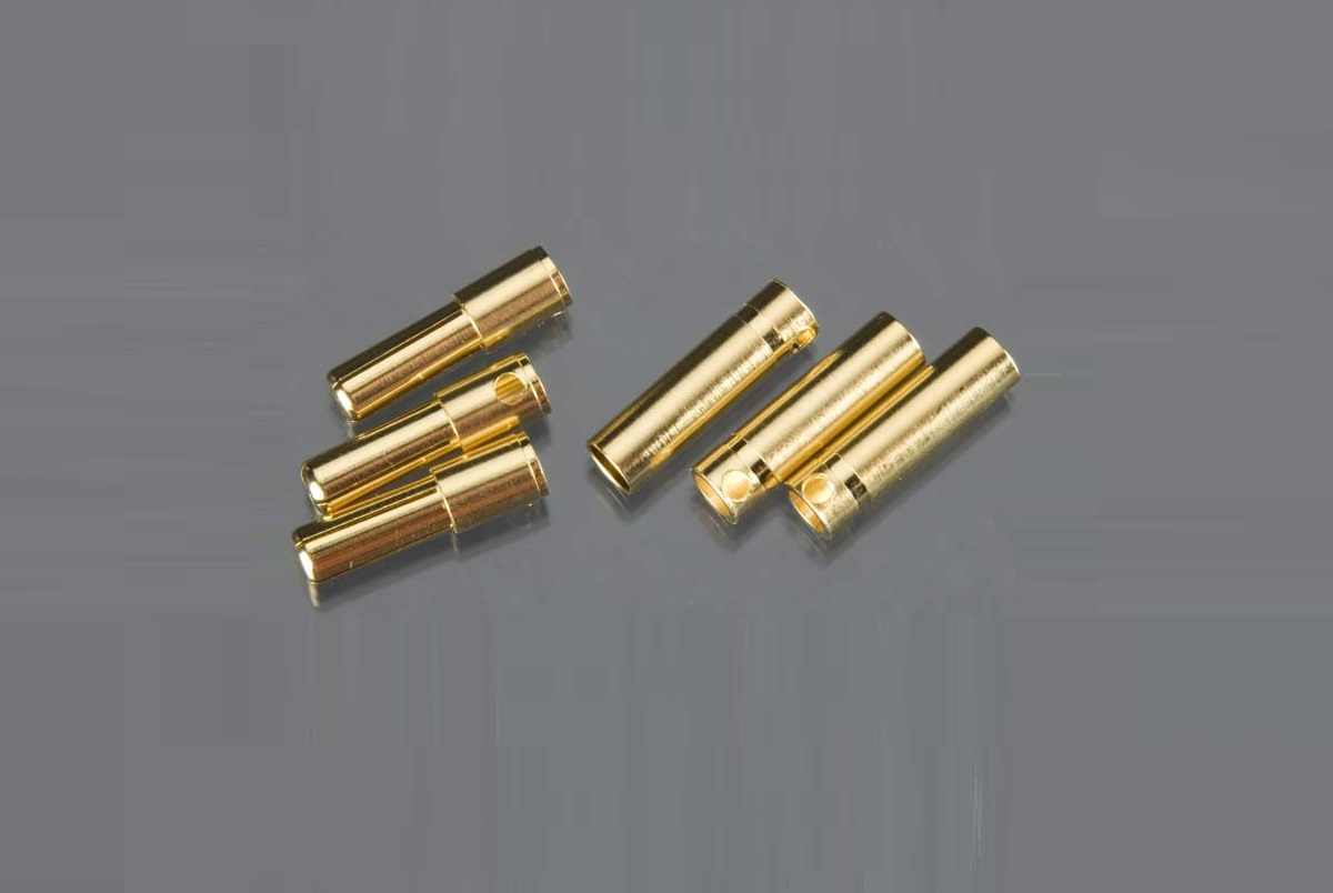 4mm Male/Female Connector Set (3ea)