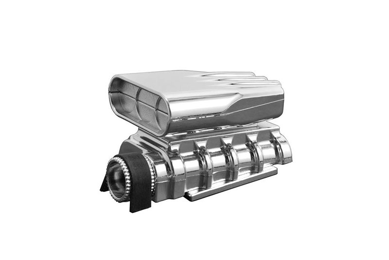 Mock Intake and Blower Set, Chrome