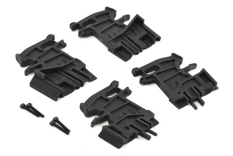 Battery hold-down mounts, left (2)/ right (2)/ 3x18mm CS (4)