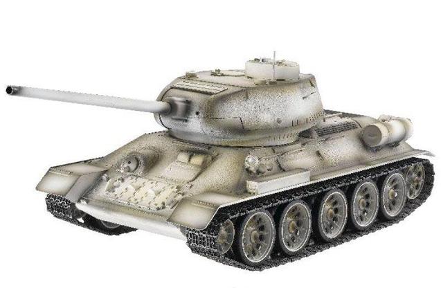 Танк Т-34 ИК Зимний