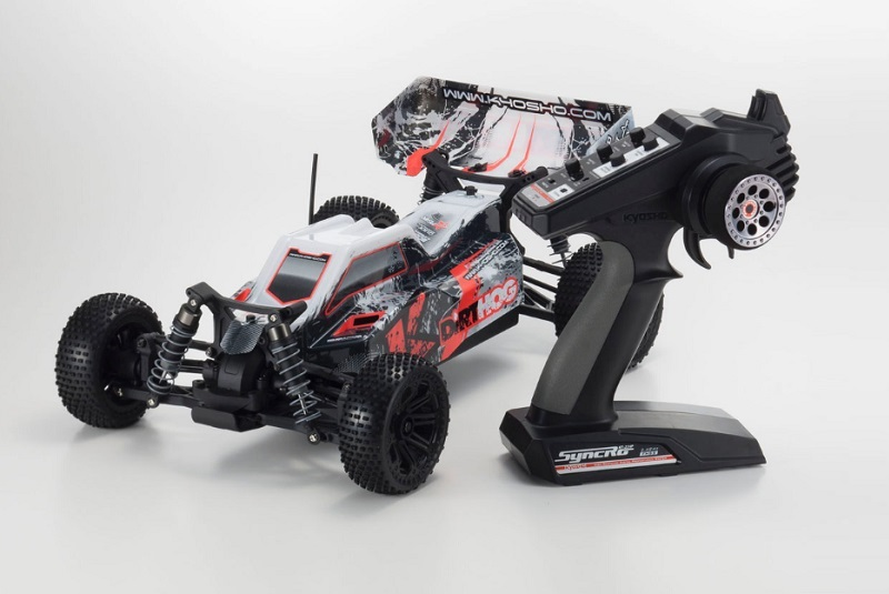���������������� ������ � ����������������� KYOSHO 1/10 EP 4WD RACING BUGGY DIRT HOG (Red) KT-231P