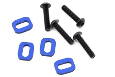 X-Maxx Motor Mount Washer (Blue) (4)