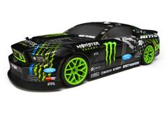 Модель туринг Дрифт 1/10 RTR e10 Ford Mustang Vaughn Gittin JR./Monster Energy 2.4GHz