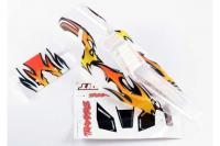 Body, Bandit, ProGraphix (replacement for painted body. Graphics are painted- requires paint and fin