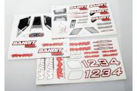 Decal sheets, Bandit VXL