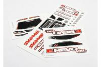 Decal sheets, 1/16 E-Revo VXL