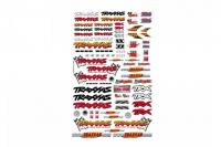 9950    OFFICIAL TRAXXAS DECALS (6-COL