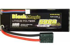 Аккумулятор Black Magic 50C/5000mah/7.4V 2S1P (hardcase w/Traxxas Plug) BM-A50-5002