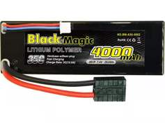 Black Magic 35C/4000mah/7.4V,2S1P (hardcase w/Traxxas Plug) BM-A35-4002