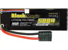 Black Magic 35C/5000mah/7.4V,2S1P (hardcase w/Traxxas Plug) BM-A35-5002
