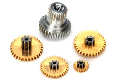 Gear set, metal (for 2065X waterproof sub-micro servo) TRA2064X