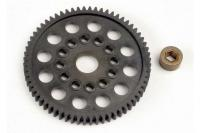 Spur gear (64-Tooth) (32-Pitch) w/bushing