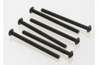 Screws, 3x40mm button-head machine (hex drive) (6)