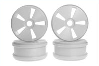 Dish Wheel(White MP777/4pcs)