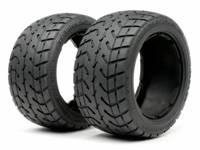 Шины (Б-5) TARMAC BUSTER TIRE M COMPOUND (170x80mm/2pcs)