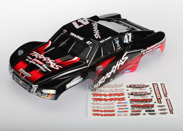 Body, Slash 4X4, Mike Jenkins #47 (painted, decals applied) (fits Slash/Slayer)