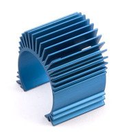 TC4 Motor Heatsink, blue aluminum (for use with #31047) радиатор