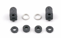 FT Low Profile Servo Mounts and spacers, carbon
