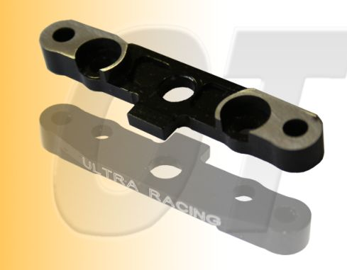 FR. LOWER SUSPENSION PLATE, JAMMIN X1CR