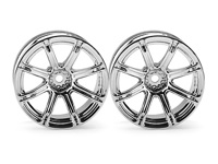 ����� 1/10 - WORK EMOTION XC8  26�� CHROME (9�� OFFSET)