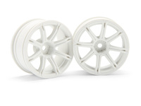 ����� 1/10 - WORK EMOTION XC8  26�� WHITE (6�� OFFSET)
