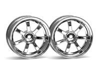 ����� 1/10 - RAYS GRAM LIGHTS 57S-PRO CHROME (9�� OFFSET)