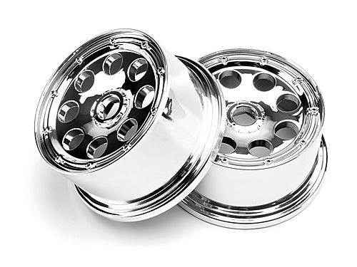 Диски 1/5 - OUTLAW WHEEL CHROME (120x65мм/-10мм OFFSET/2шт)