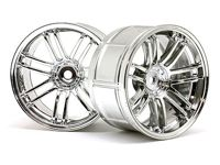 ����� ����� 1/10 - LP32 RAYS VOLK RACING RE30 CHROME (2��) 6mm OffSet
