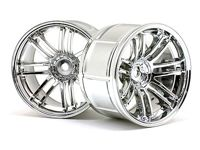 ����� ����� 1/10 - LP35  RAYS VOLK RACING RE30 CHROME (2��) 9mm OffSet
