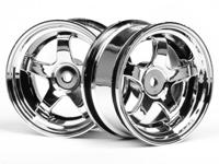 ����� 1/10 - WORK MEISTER S1 WHEEL 26mm CHROME (3mm OFFSET)
