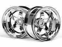 ����� 1/10 - WORK MEISTER S1 26mm CHROME (9mm OFFSET)