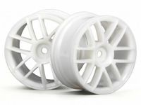 Диски 1/10 - SPLIT 6 WHEEL 26MM WHITE (2шт)