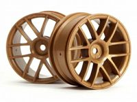 ����� 1/10 - SPLIT 6 WHEEL 26MM GOLD