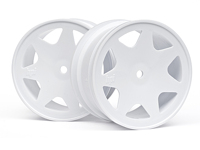 Диски 1/10 - ULTRA 7 WHEELS WHITE 35mm (2pcs)