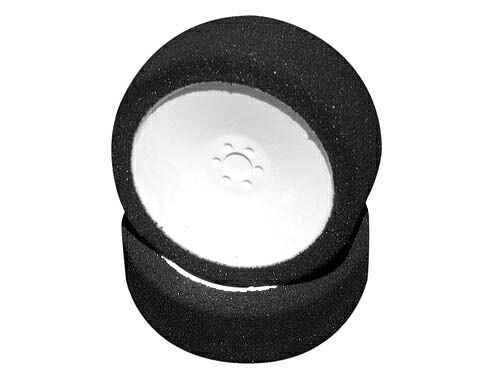 Колеса микропора 1/18 HPI MICRO PRO FOAM TYRES 17MM (A/SOFT) WITH DISH WHEEL WHITE (1 PAIR)