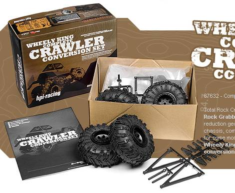 WHEELY KING COMPLETE ROCK CRAWLER CONVERSION SET