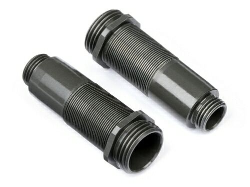 ALUMINUM THREADED SHOCK BODY (67-87mm/2pcs)