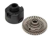 DIFFERENTIAL GEAR CASE SET (39T)