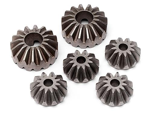 BEVEL GEAR SET (for #85427 ALLOY DIFF CASE SET)