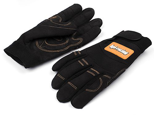 �������� HPI PIT GLOVES (BLACK/MEDIUM)