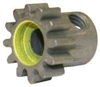 Mod 1 Steel Pinion Gear for 5mm Shaft-12T