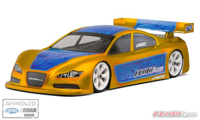 ����� 1/10 - R9-R (rubber) 190mm Touring Car (����������� , ����������)