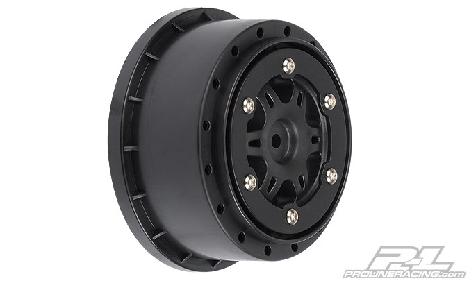 "Диски (SC10) Split Six 2.2""/3.0"" Red/Black Bead-Loc Rear for SC10 2шт"