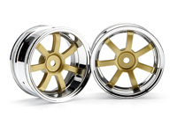 ����� 1/10 - RAYS GRAM LIGHTS 57S-PRO CHROME/GOLD (6�� OFFSET)